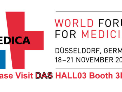 "<h5>DAS exhibits at MEDICA 2019</h5>  <p>Das exhibits at <a class=""event_href"" target=""_blank"" href=""https://www.medica-tradefair.com"">MEDICA</a>   from 18th to 21st of November 2019, Hall 3 stand K53, where the instrument  <a class=""event_href"" target=""_blank"" href=""http://www.dasitaly.com/NewSite/wordpress/scheda_ap_22_if_blot_elite/"">AP22 IF BLOT ELITE</a> is displayed</p>"